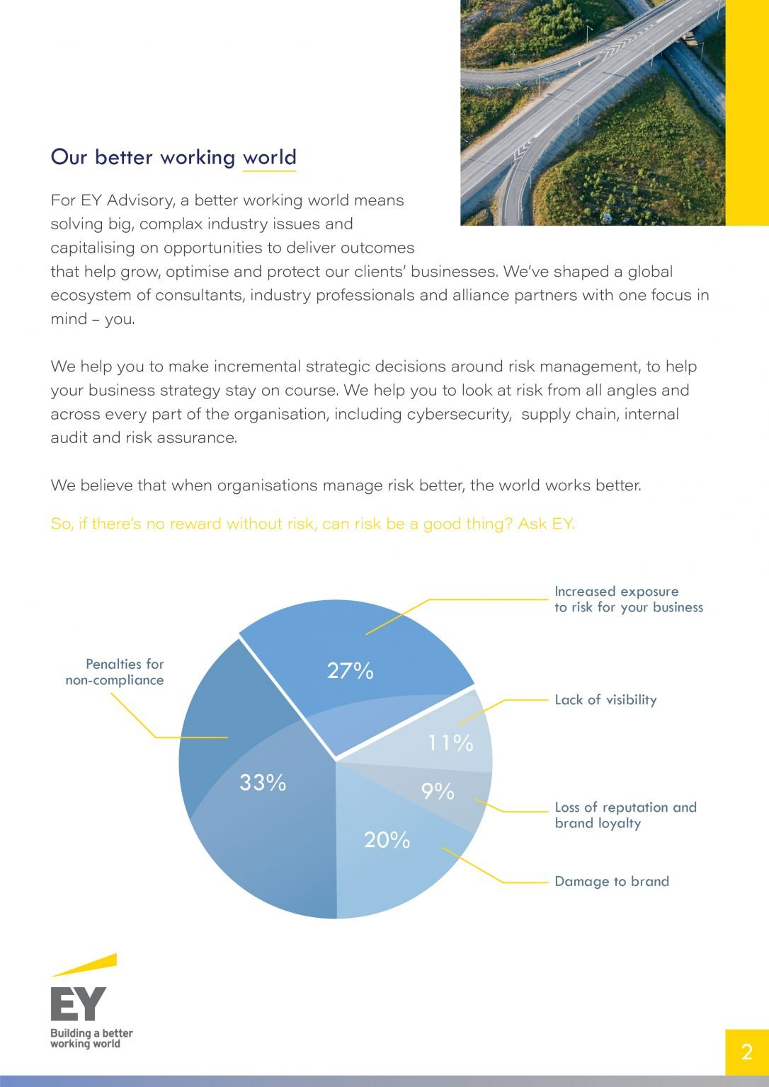 Ernst and young newsletter design - inside pages