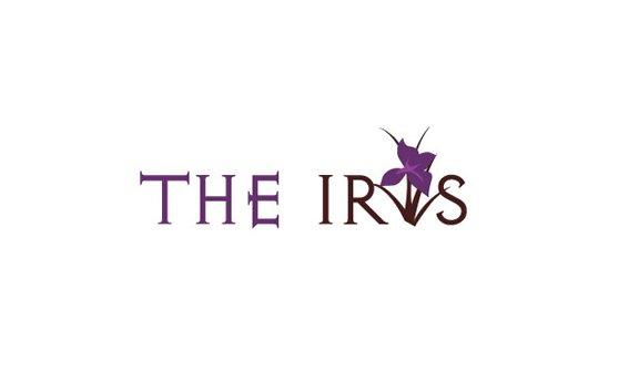 The iris logo design
