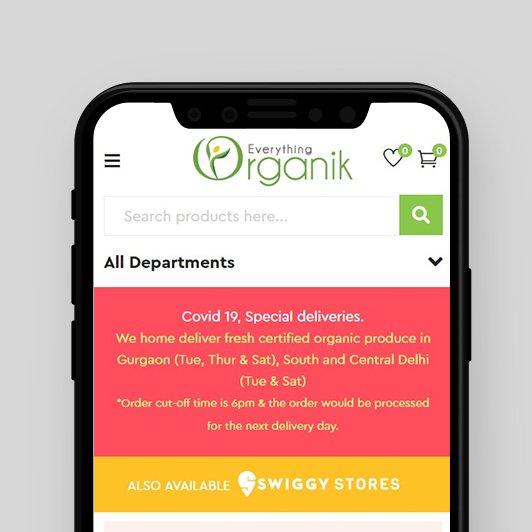 Creative & mobile responsive website design