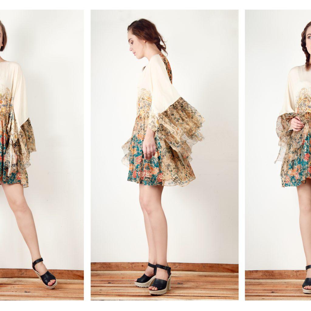 William morris dress print
